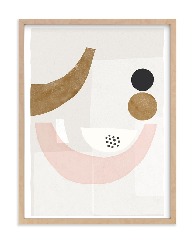 """""""The Balancing 2"""" - Art Print by Francesca Iannaccone in beautiful frame options and a variety of sizes."""
