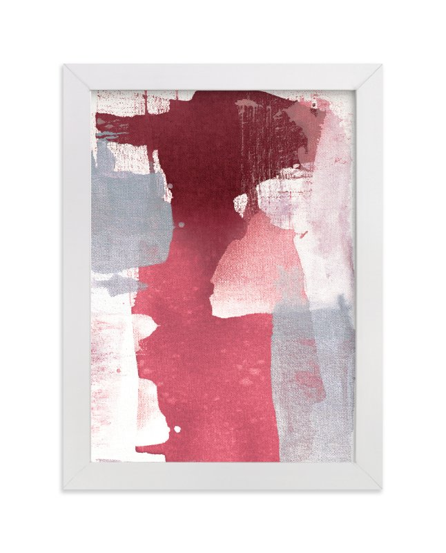 """""""Holiday Glimmer"""" - Art Print by Julia Contacessi in beautiful frame options and a variety of sizes."""
