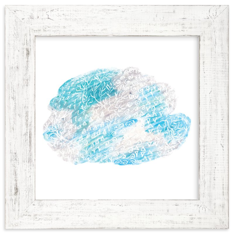 """Cloud"" - Art Print by Kanika Mathur in beautiful frame options and a variety of sizes."