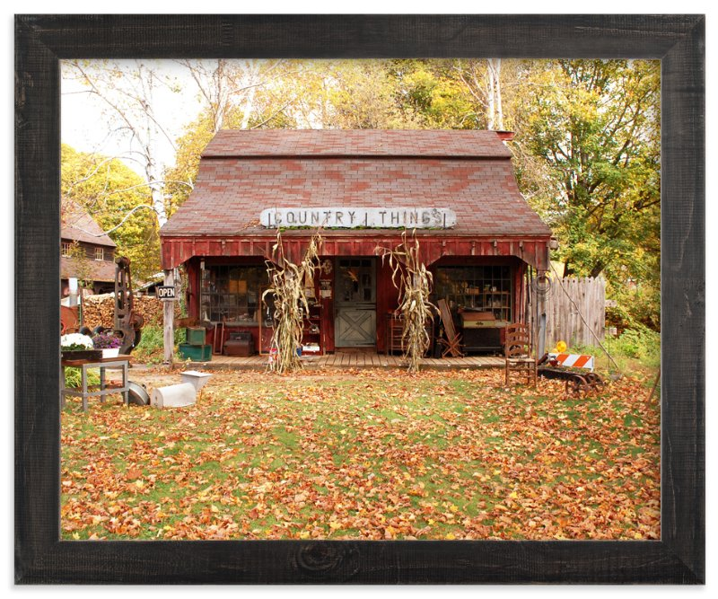 """""""Country Things"""" - Art Print by Monica Cheng in beautiful frame options and a variety of sizes."""