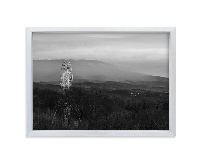 """""""Forgotten Wheel"""" - Art Print by Mark Kirby in beautiful frame options and a variety of sizes."""