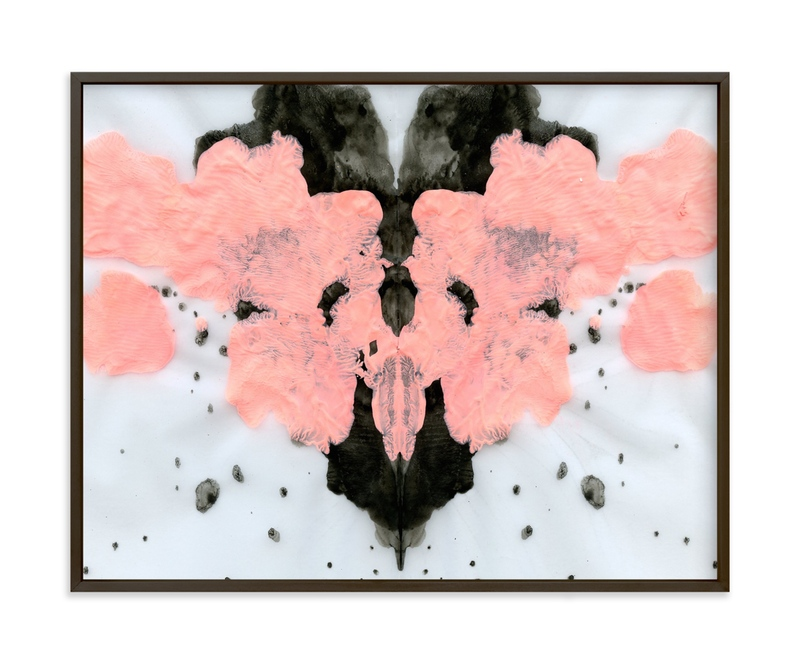"""Heart Meets Body"" - Art Print by Lauren Packard in beautiful frame options and a variety of sizes."