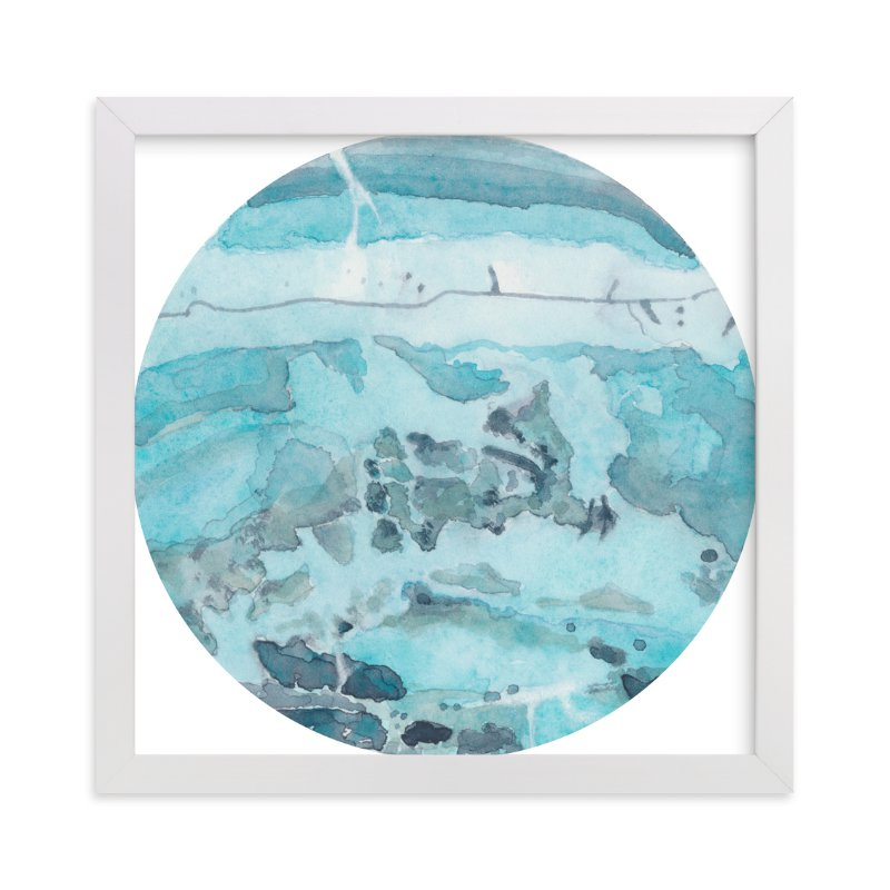"""""""Mineral 04"""" - Art Print by Lily Hanna in beautiful frame options and a variety of sizes."""