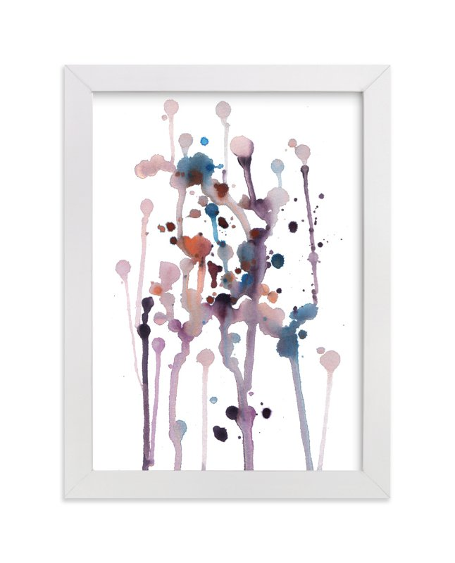 """""""flowing spots"""" - Art Print by aticnomar in beautiful frame options and a variety of sizes."""