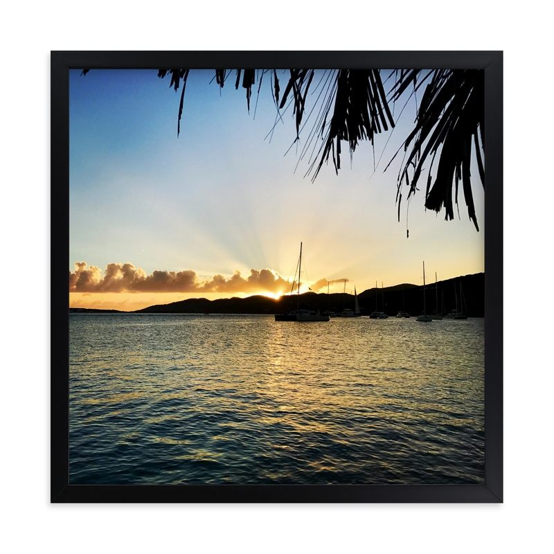 """""""Island Feels"""" - Art Print by Hannah Graham in beautiful frame options and a variety of sizes."""