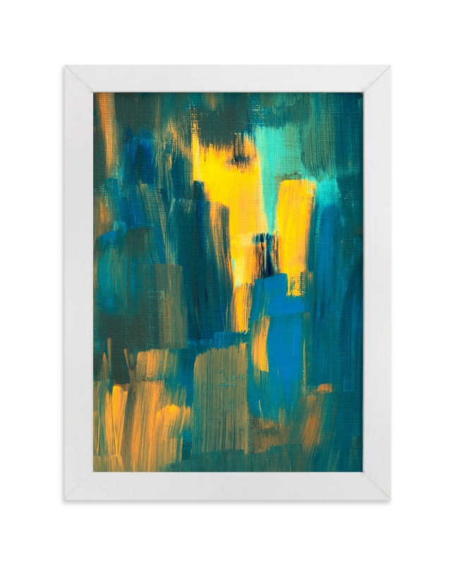 """""""Abstract Painting5"""" - Art Print by Ramoncita Campo in beautiful frame options and a variety of sizes."""