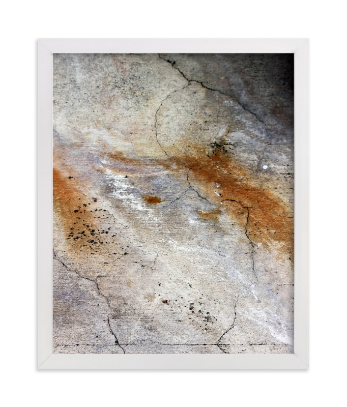 """Urban Abstract"" - Art Print by Becky Nimoy in beautiful frame options and a variety of sizes."