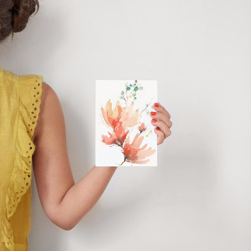 Blush Blossoms Art Prints. byKelly Ventura
