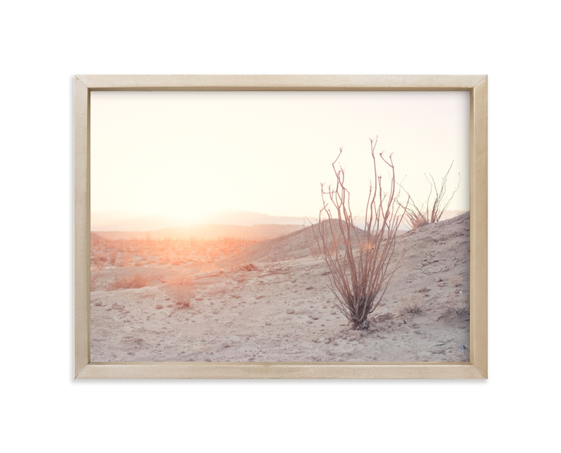 """Ocotillo III"" - Art Print by Kamala Nahas in beautiful frame options and a variety of sizes."
