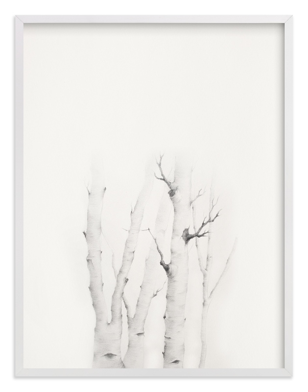 """Mytoi Tree 02"" - Art Print by jinseikou in beautiful frame options and a variety of sizes."