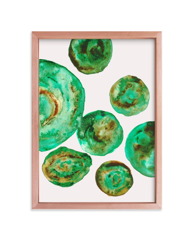 """""""Jade"""" - Art Print by Belia Simm in beautiful frame options and a variety of sizes."""