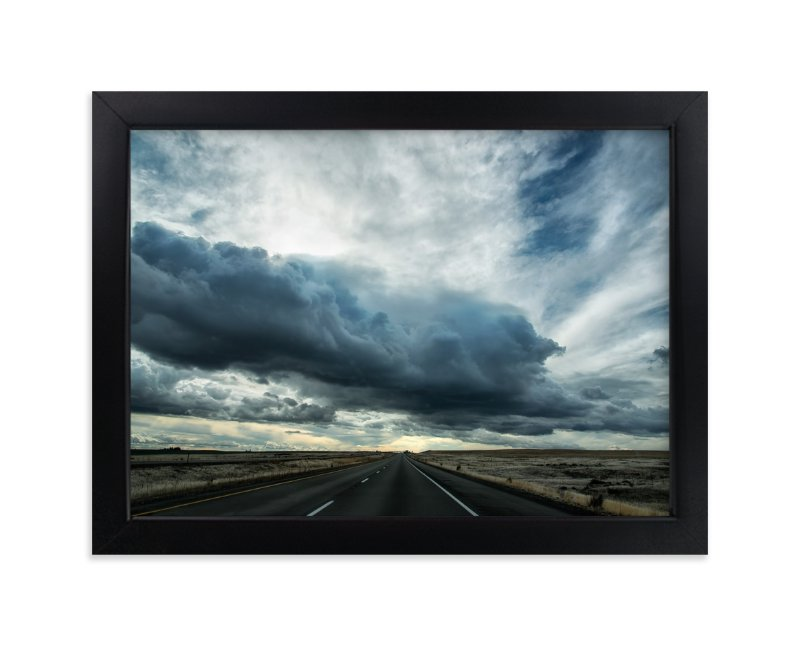 """""""storm"""" - Art Print by Michelee Scott in beautiful frame options and a variety of sizes."""