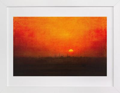 Cairo Sunset  Art Print