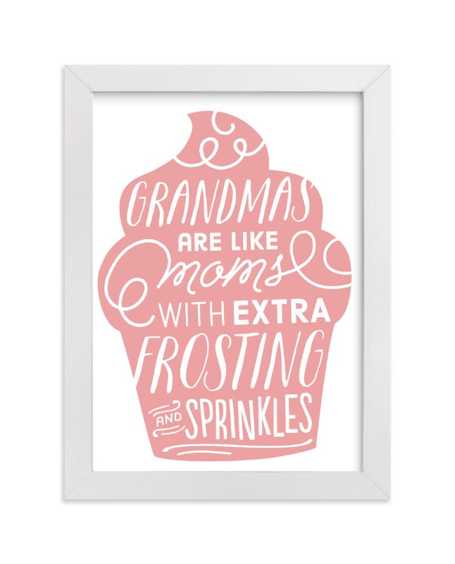 """Extra Frosting"" - Art Print by Jessie Steury in beautiful frame options and a variety of sizes."