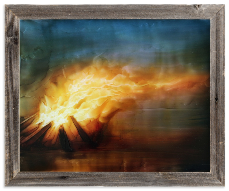 """""""Dragon Fire"""" - Art Print by Brian Sostrom in beautiful frame options and a variety of sizes."""