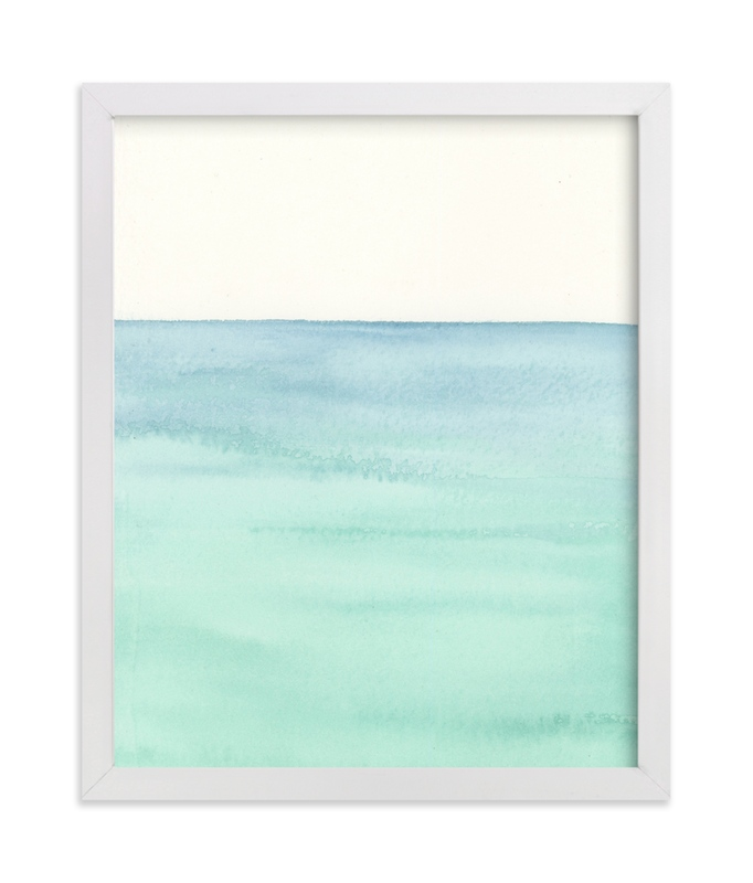 """Playa Four."" - Art Print by Emily Magone in beautiful frame options and a variety of sizes."
