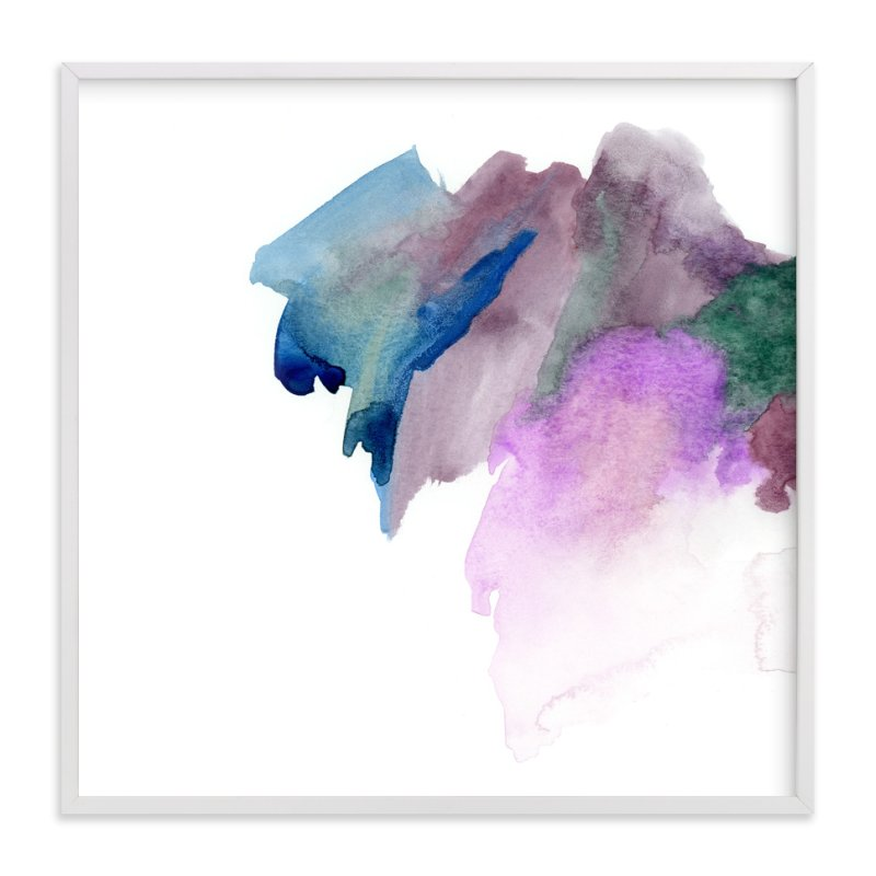 """White Space 2"" - Art Print by Mande in beautiful frame options and a variety of sizes."