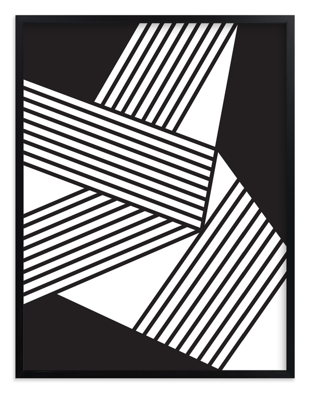 """Untitled B+W #1 2012"" - Art Print by Jaime Derringer in beautiful frame options and a variety of sizes."