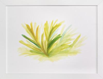 growing grass hand painted  Art Print