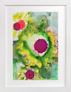 Abstract Daisy  Art Print