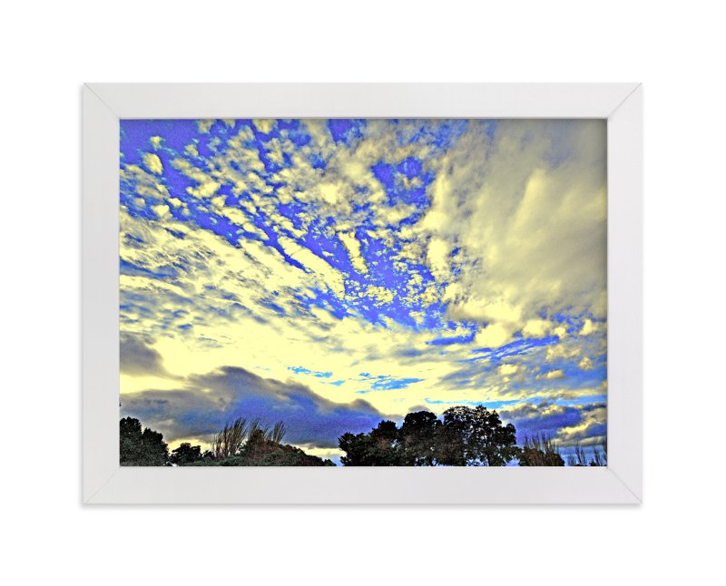"""Gilded Clouds"" - Art Print by NSMARK in beautiful frame options and a variety of sizes."