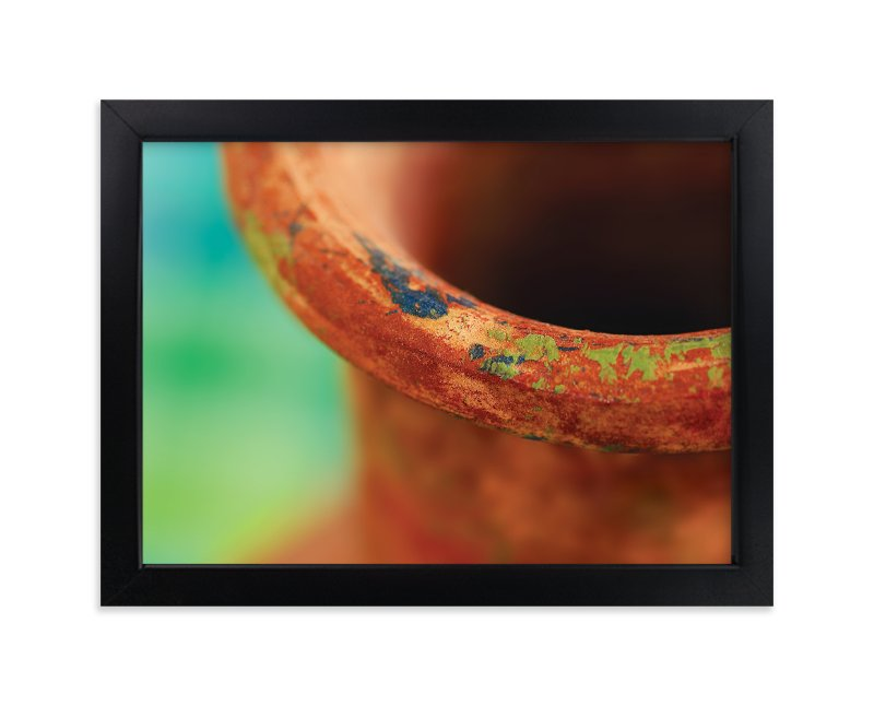 """""""Mexican Pottery"""" - Art Print by Laura Hamm in beautiful frame options and a variety of sizes."""