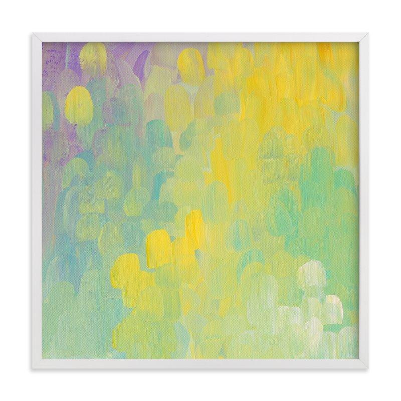Dandelions And Lavendar Wall Art Prints By Kim Johnson