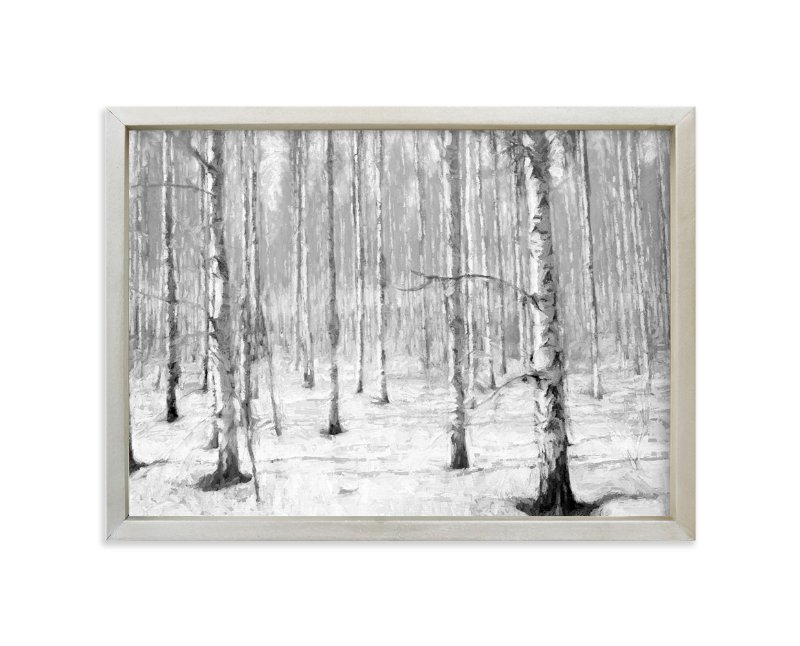 """""""Moon Forest"""" - Art Print by Brian Lee in beautiful frame options and a variety of sizes."""