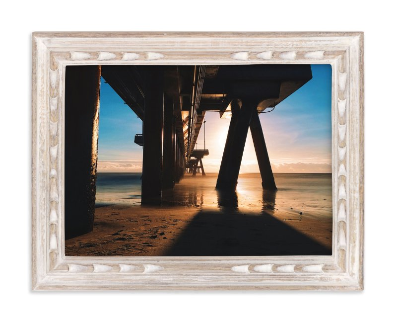 """Venice Beach Rays"" - Art Print by Christian Florin in beautiful frame options and a variety of sizes."