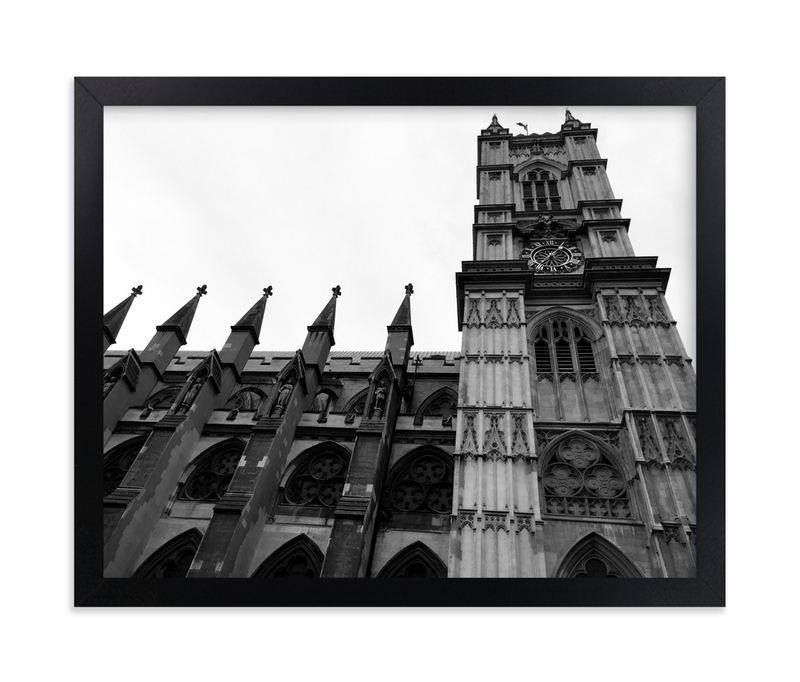 """Architecture of London"" - Art Print by Hannah Graham in beautiful frame options and a variety of sizes."
