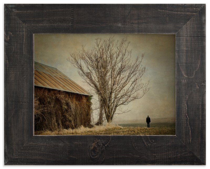 """Contemplation"" - Art Print by Michelee Scott in beautiful frame options and a variety of sizes."