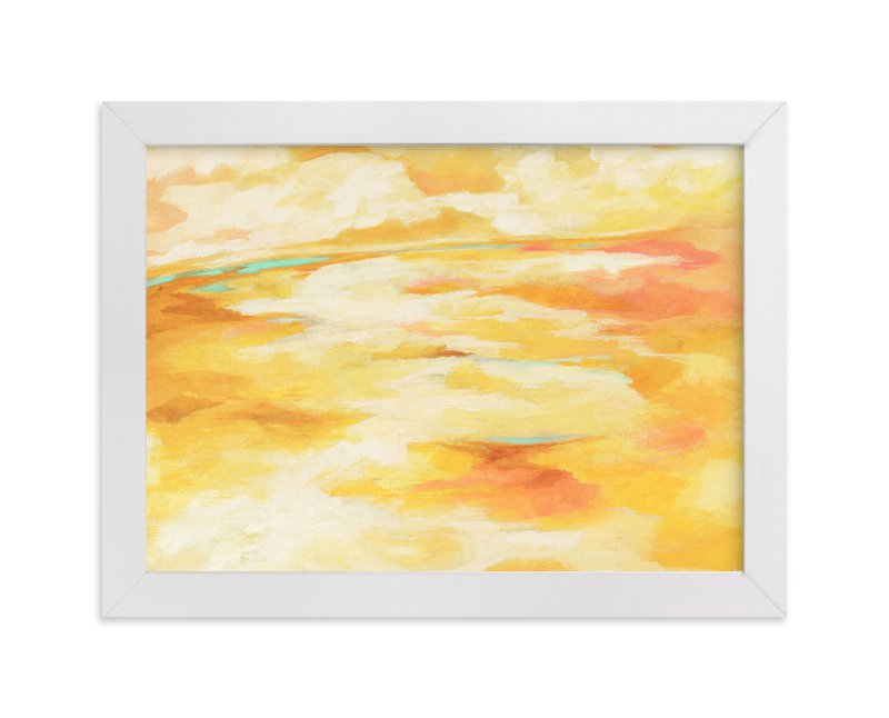 """""""La Luz"""" - Art Print by Mya Bessette in beautiful frame options and a variety of sizes."""
