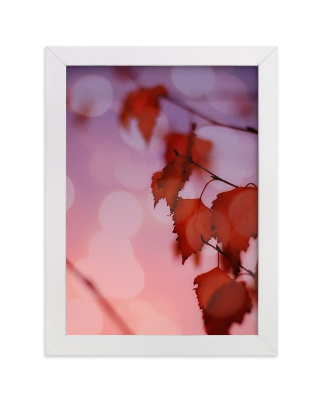"""""""Warm Ombre"""" - Art Print by Maria Hilas Louie in beautiful frame options and a variety of sizes."""