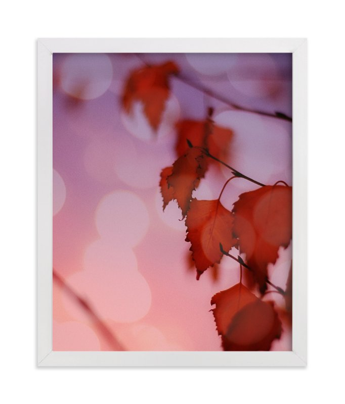 """Warm Ombre"" - Art Print by Maria Hilas Louie in beautiful frame options and a variety of sizes."
