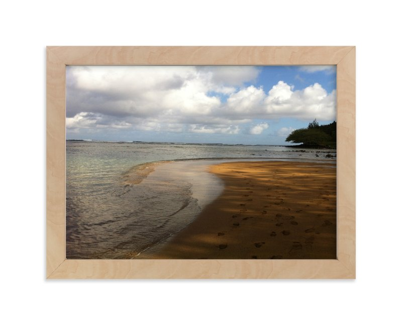 """""""Footprints"""" - Art Print by Jan Kessel in beautiful frame options and a variety of sizes."""