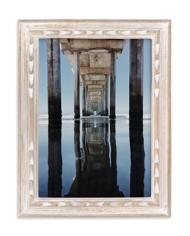 """""""Pier Into Another Dimension"""" - Art Print by Christian Florin in beautiful frame options and a variety of sizes."""