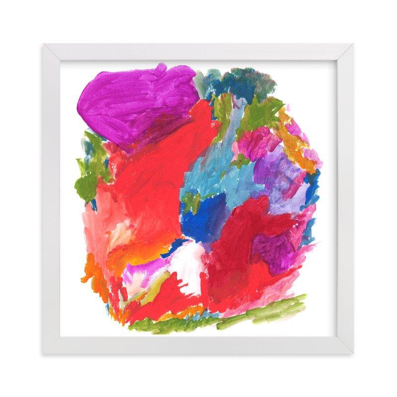 carnival colors wall art prints by lisa mclean minted