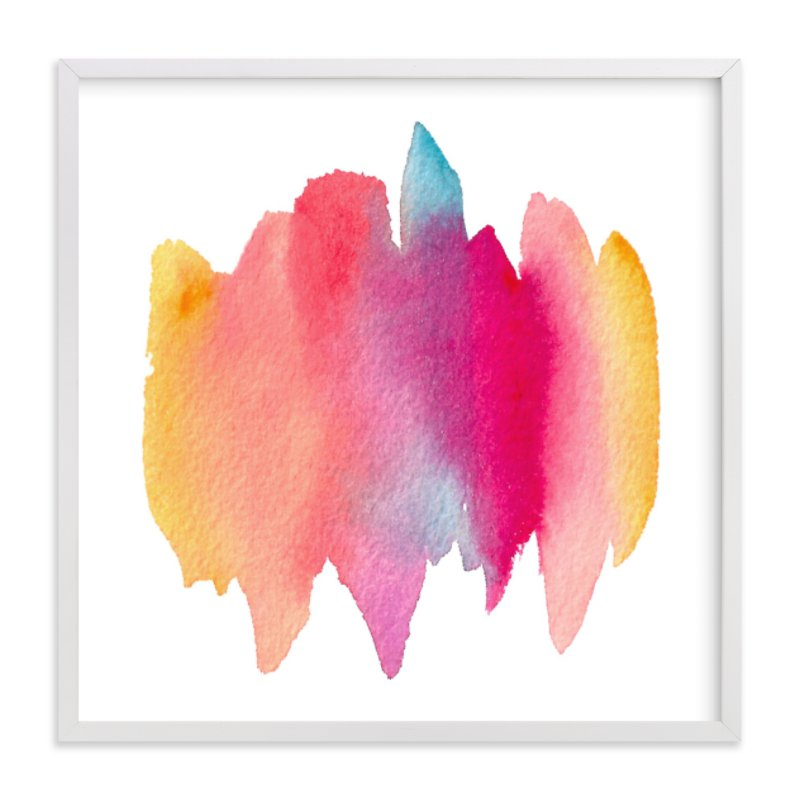 """Color Melt"" - Art Print by sue prue in beautiful frame options and a variety of sizes."