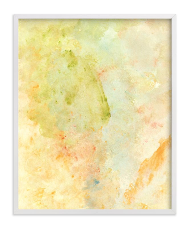 """""""watercolor painting vintage style"""" - Art Print by aticnomar in beautiful frame options and a variety of sizes."""