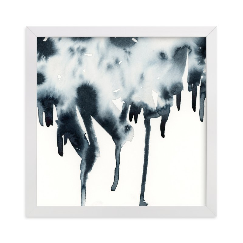 """""""Ink Patch"""" - Art Print by Michelle Waldie in beautiful frame options and a variety of sizes."""