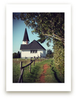 Short Cut to Church by Gray Star Design