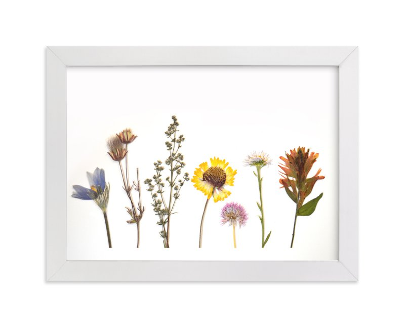 """""""Spring Gathering"""" - Art Print by Shannon in beautiful frame options and a variety of sizes."""