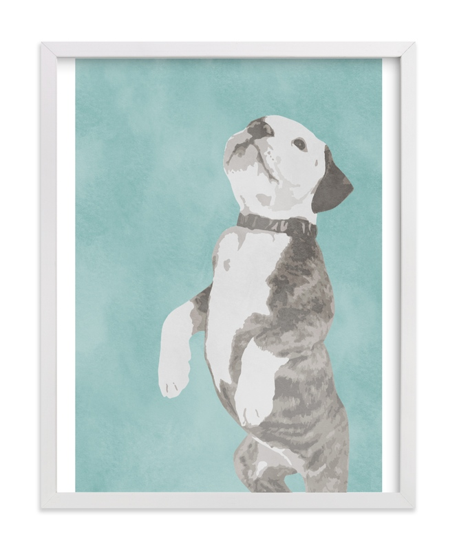 """""""Please"""" - Art Print by LemonBirch Design in beautiful frame options and a variety of sizes."""