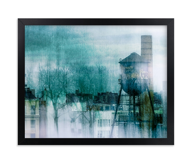 """""""Merging"""" - Art Print by Debra Pruskowski in beautiful frame options and a variety of sizes."""