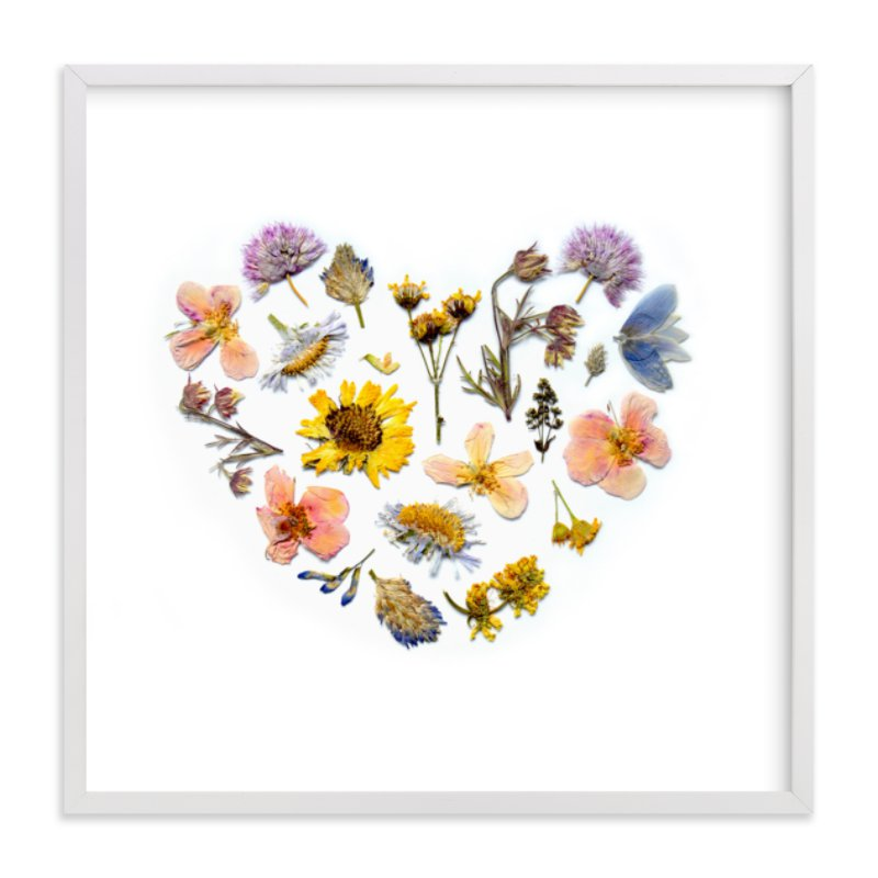 """""""Spring Love"""" - Art Print by Shannon in beautiful frame options and a variety of sizes."""