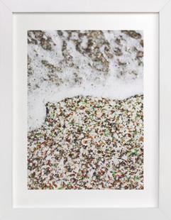 Glass Beach Art Print