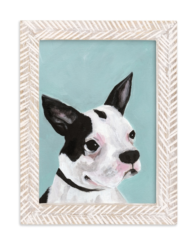 """Lucy"" - Art Print by Stacey Hill in beautiful frame options and a variety of sizes."