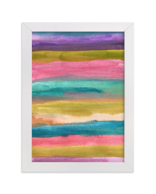 """painted abstract1"" - Art Print by aticnomar in beautiful frame options and a variety of sizes."