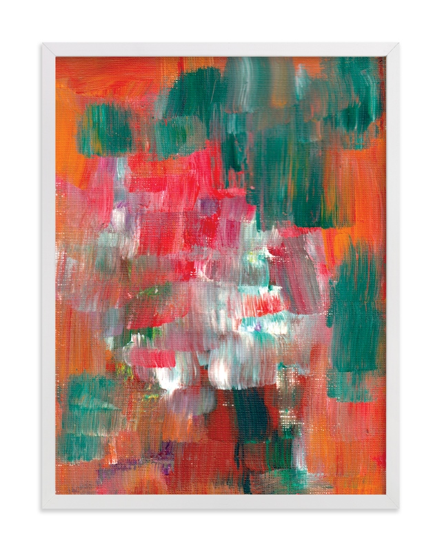 """""""Abstract Painting_7"""" - Art Print by aticnomar in beautiful frame options and a variety of sizes."""