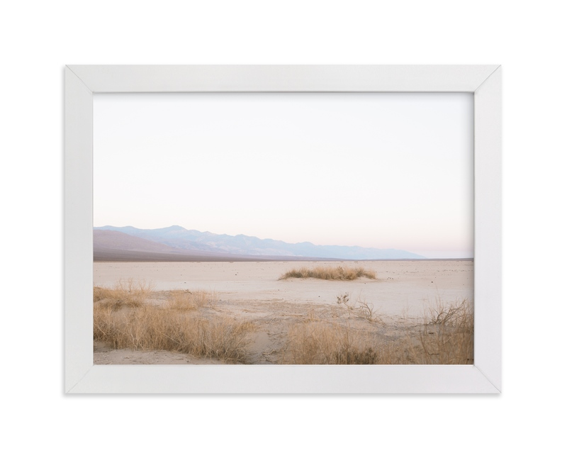 """Soft Desert Sunset"" - Art Print by Anna Western in beautiful frame options and a variety of sizes."
